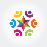 Logotipo del asunto Fotos de archivo
