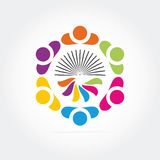 Logotipo del asunto Fotografía de archivo