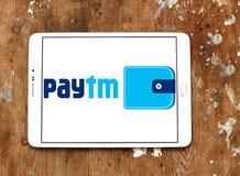 Logotipo del banco de los pagos de Paytm Imagen de archivo