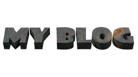 Logotipo del blog Fotografía de archivo libre de regalías