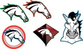 Logotipo del caballo fotografía de archivo