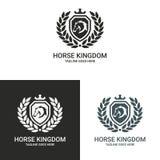 Logotipo del caballo Fotografía de archivo libre de regalías