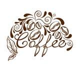 Logotipo del café Fotos de archivo libres de regalías