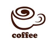 Logotipo del café Foto de archivo