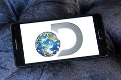 Logotipo del canal de descubrimiento imágenes de archivo libres de regalías