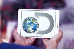 Logotipo del canal de descubrimiento fotos de archivo libres de regalías