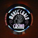 Logotipo del casino de Monte Carlo Fotografía de archivo libre de regalías