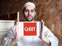 Logotipo del CeBIT fotos de archivo