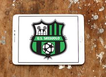 Logotipo del club del fútbol de Sassuolo Femminile Fotos de archivo