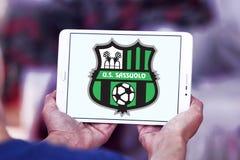 Logotipo del club del fútbol de Sassuolo Femminile Fotos de archivo libres de regalías