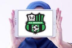 Logotipo del club del fútbol de Sassuolo Femminile Fotografía de archivo libre de regalías
