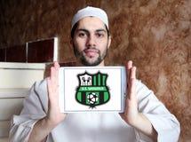 Logotipo del club del fútbol de Sassuolo Femminile Foto de archivo libre de regalías