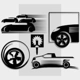 Logotipo del coche Foto de archivo