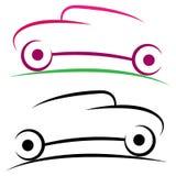 Logotipo del coche Imagen de archivo libre de regalías