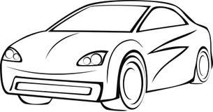 Logotipo del coche Fotografía de archivo
