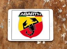 Logotipo del coche de Abarth Imagen de archivo libre de regalías