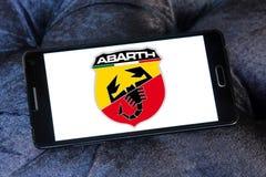 Logotipo del coche de Abarth Foto de archivo libre de regalías