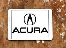 Logotipo del coche de Acura Fotografía de archivo