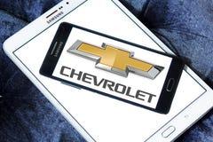 Logotipo del coche de Chevrolet Fotografía de archivo