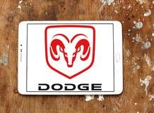 Logotipo del coche de Dodge Fotos de archivo libres de regalías