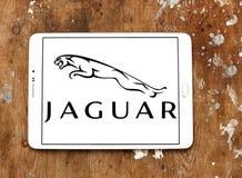 Logotipo del coche de Jaguar Imagen de archivo libre de regalías