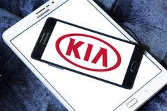 Logotipo del coche de Kia Fotografía de archivo
