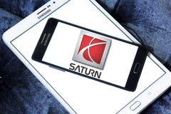 Logotipo del coche de Saturn Foto de archivo libre de regalías