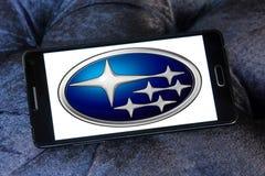 Logotipo del coche de Subaru Fotos de archivo libres de regalías