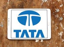 Logotipo del coche de Tata Fotografía de archivo libre de regalías
