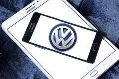 Logotipo del coche de VW Foto de archivo