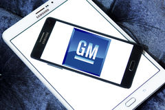 Logotipo del coche del Gm general motors Imagen de archivo libre de regalías