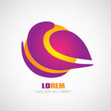 Logotipo del color Fotografía de archivo