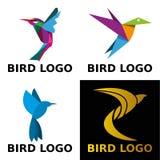 Logotipo del concepto del pájaro Imagen de archivo libre de regalías