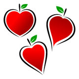 Logotipo del corazón Fotos de archivo libres de regalías