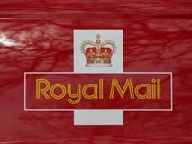 Logotipo del correo imagenes de archivo