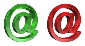 Logotipo del correo electrónico Imagenes de archivo