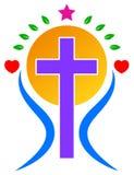 Logotipo del cristianismo ilustración del vector