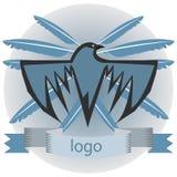 Logotipo del cuervo Imagen de archivo
