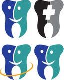 Logotipo del cuidado dental Imagen de archivo