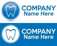 Logotipo del cuidado dental fotografía de archivo libre de regalías
