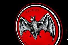 Logotipo del ` de BACARDI del ` Imagen de archivo