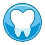 Logotipo del diente Foto de archivo libre de regalías