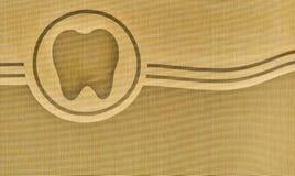 Logotipo del diente fotografía de archivo