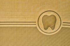 Logotipo del diente fotografía de archivo libre de regalías
