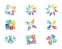 Logotipo del diseño Imagen de archivo libre de regalías