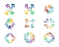Logotipo del diseño Imagenes de archivo