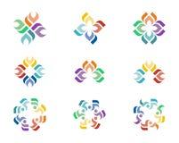 Logotipo del diseño Imagen de archivo