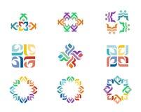 Logotipo del diseño Foto de archivo
