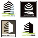 Logotipo del edificio Fotos de archivo