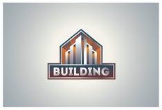 Logotipo del edificio Fotografía de archivo